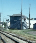 Milwaukee Road Tower CK at CNW Crossing